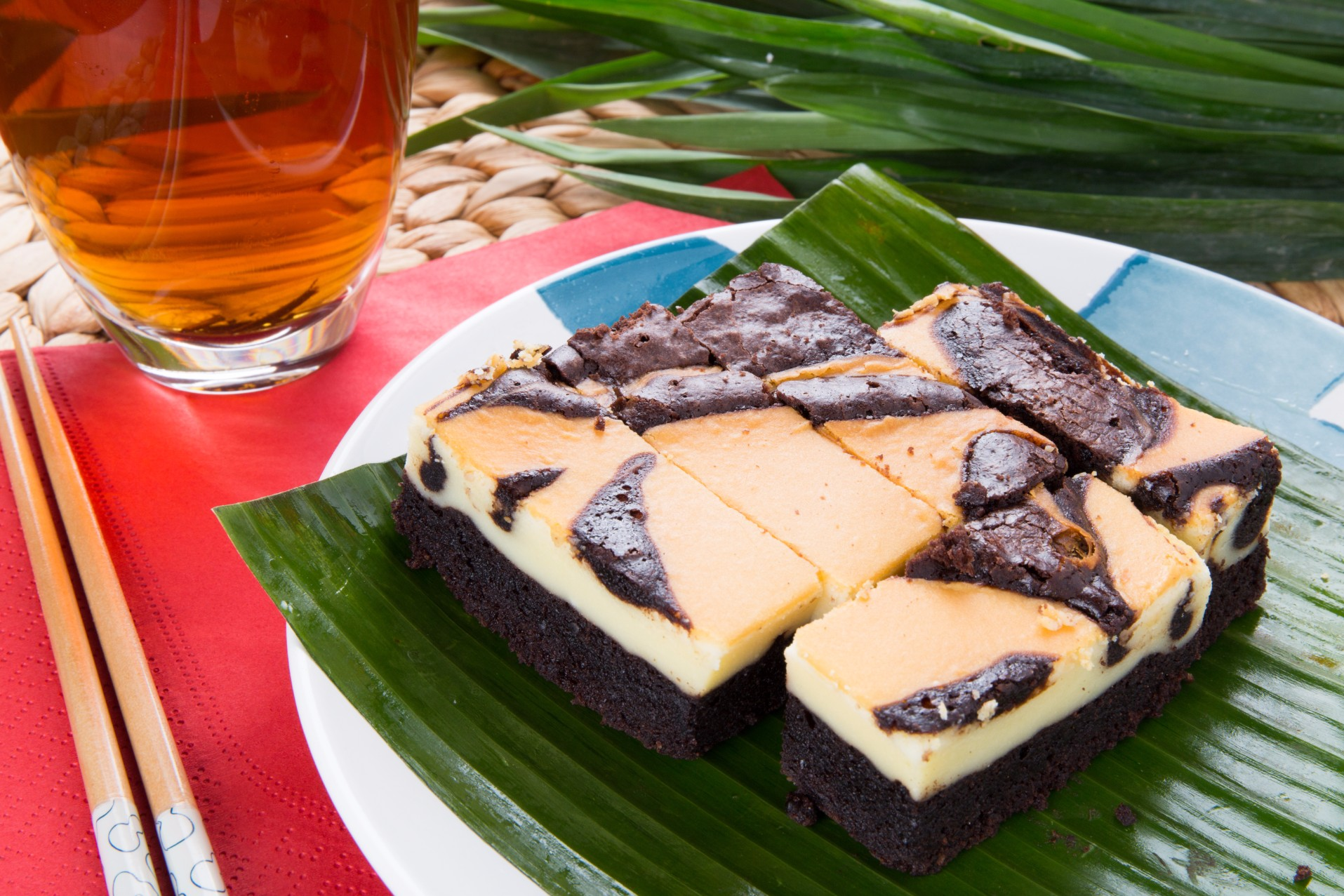 Cheese Marble Brownie (Sold in 12s')